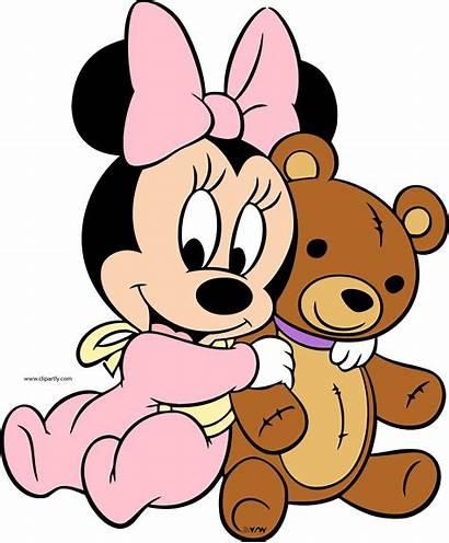 Minnie Mouse Transparent Mickey Clipart Bear Disney