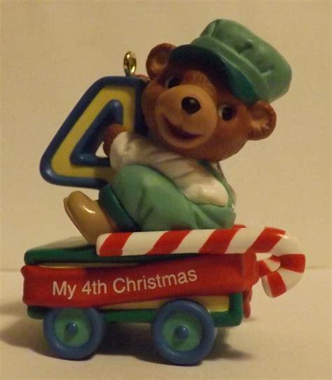 hallmark keepsake ornament child s fourth christmas 2001 2000 2005