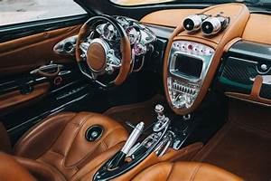 Interior of the Pagani Huayra hypercar | Pagani ...