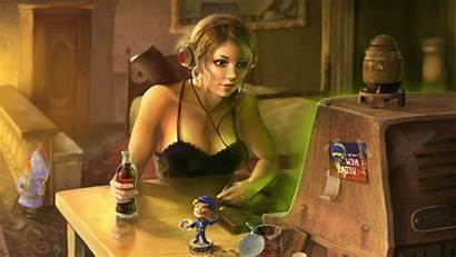Fallout Nuka Cola Wallpapers Vault Adult Woman
