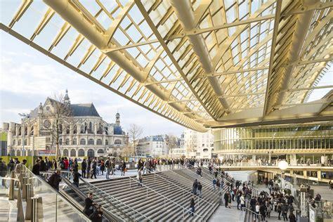 """RÉnovation Du Forum Des Halles, La """"canopÉe""""patrick Berger"""