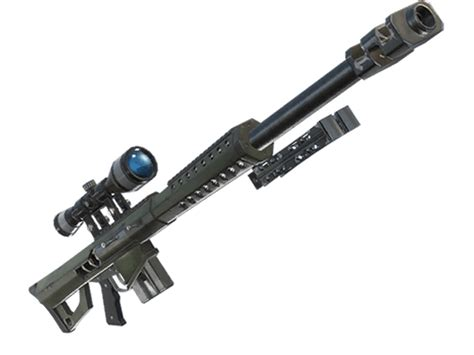 Leaked Heavy Sniper Rifle In 'fortnite' Will Shoot Through