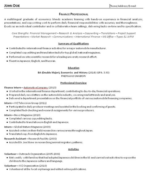 best resume for college graduate resume for recent college graduate berathen com