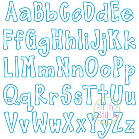 barnyard applique font