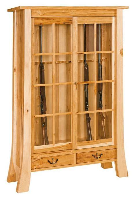 witmer amish  gun cabinet