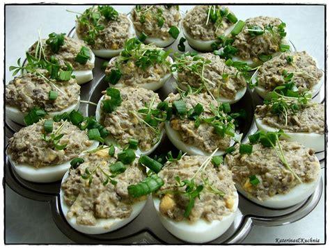 jajka pieczarkowym farszem skadniki kuchnia katerina