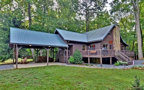 cabins for in blue ridge ga trout run outside