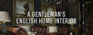 English Home Interiors: Classic Gentleman's Decor ...