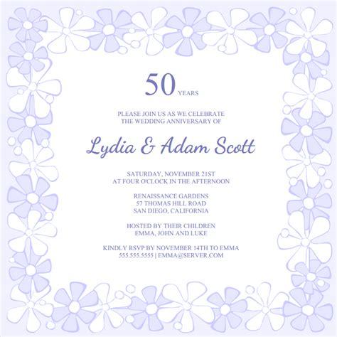 50th anniversary invitations templates free 50th anniversary invitation template orderecigsjuice info