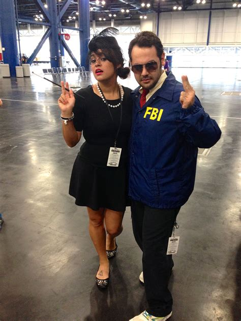Bert Macklin And Janet Snakehole Cosplay And Costumes