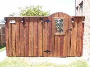 Wood Fence Gate Styles