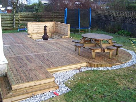 how to build a deck softwoods services softwood decks macdeck landscaping