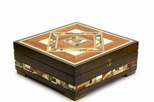 Designer Deep Wooden Tea Box-Tea Bag Selection Box-Wood