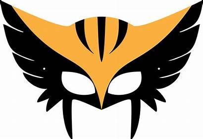 Mask Template Masks Halloween Printable Hawkgirl Hawk