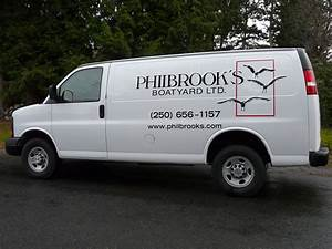 vehicle lettering With van lettering design
