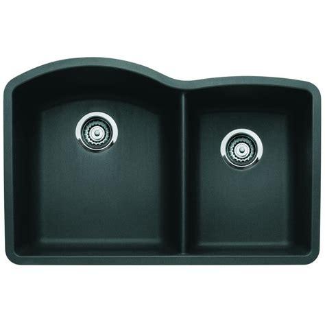 blanco undermount kitchen sinks blanco undermount granite composite 32 in 0 4788