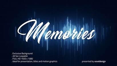 Memories Background Opener Words Backgrounds Videohive