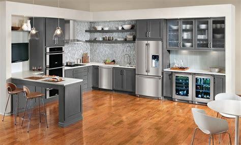 15 Moderne Graue Küchenschränke In Warmen Nuancen