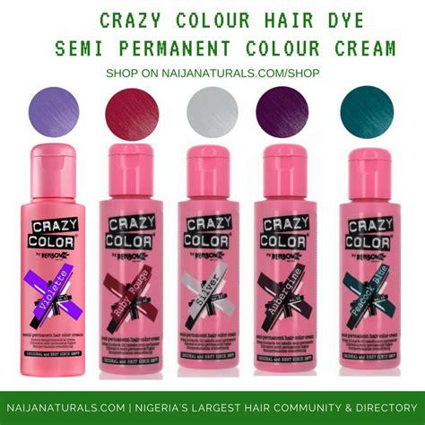 Crazy Colour Semi Permanent Hair Dye Nn Hair And Beauty