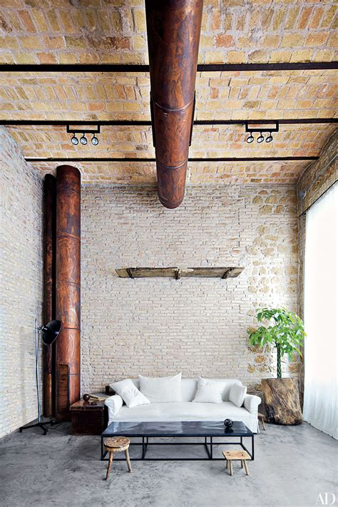 spaces  charming exposed brick walls