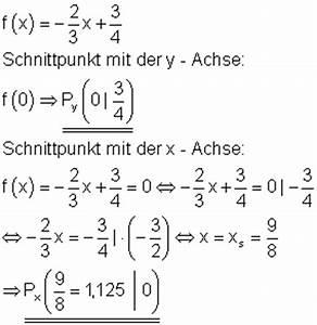 Schnittpunkt Berechnen Quadratische Funktion : einf hrung lineare funktionen mathe brinkmann ~ Themetempest.com Abrechnung