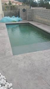 Piscine Beton Prix : plage piscine beton imprime ~ Melissatoandfro.com Idées de Décoration