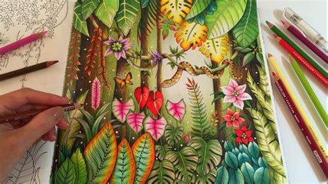 magical jungle adult coloring book  johanna basford