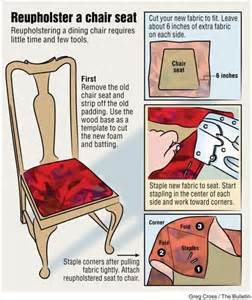Recovering Dining Room Chair Seats by Diy Reupholster Chairs Recovering Seat Cushions Is A