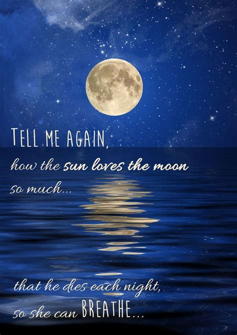 Love Quotes With Moon