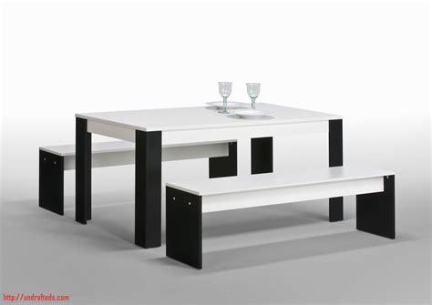banc cuisine pas cher ensemble table et bancs noir