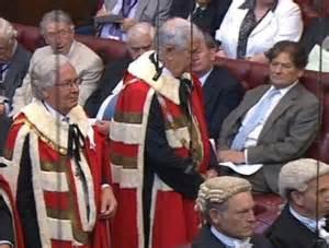 Sir Mervyn King takes seat in House of Lords as life peer ...