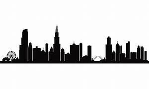 City skyline silhouette background   Kid Decor   Pinterest ...