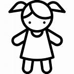 Doll Toy Icon Toys Svg Icons Clipart