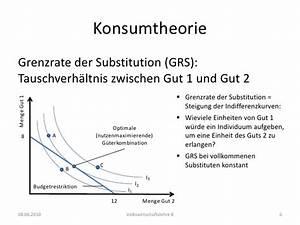 Grenzrate Der Substitution Berechnen : vwlb03 67 77 ~ Themetempest.com Abrechnung