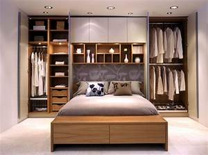 bedroom storage ideas wardrobes on either side of the With 3 best ideas for bedroom storage furniture
