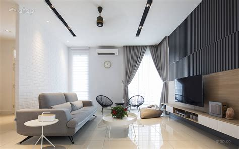 Home Design Ideas Malaysia by Modern Zen Living Room Semi Detached Design Ideas Photos