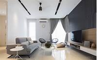 living room design ideas Modern Zen Living Room semi-detached design ideas & photos ...