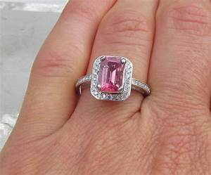 engagement ring pink sapphire engagement rings 64 With pink sapphire wedding rings