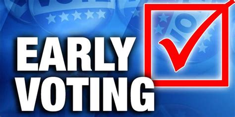 early voting  underway  bowie  miller counties