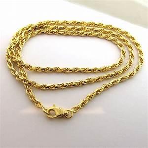 bijoux or au poids collier or jaune chaine corde 166 With les bijoux en or
