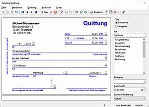 Privat Rechnung Ausstellen : keseling software quittung ~ Themetempest.com Abrechnung