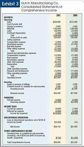 us gaap financial statements template - shaking up financial statement presentation