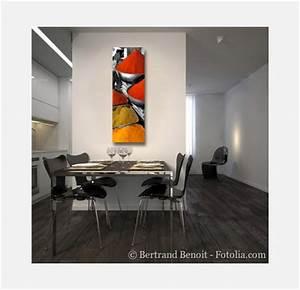 Tableau Pour Cuisine : tableau decoration interieure moderne ~ Teatrodelosmanantiales.com Idées de Décoration