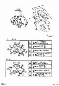 Lexus Es 330 Engine Water Pump  Main Engine Water Pump