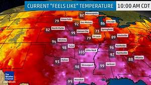 Dangerously hot temperatures in the central US this week ...