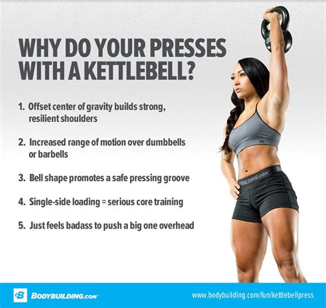 kettlebell press build beastly break down bodybuilding