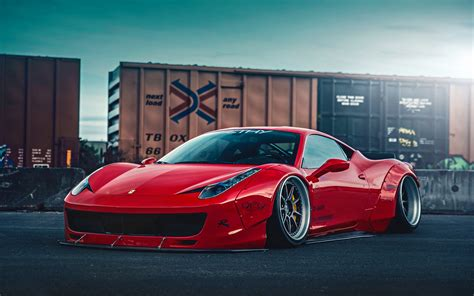 Ferrari 458 Liberty Walk 2 Wallpaper
