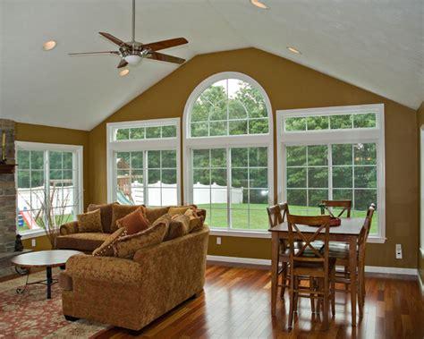 Four Season Room & Deck  Traditional  Family Room