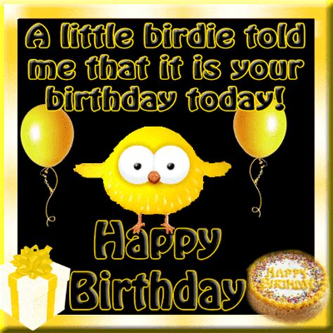 birdie told     funny birthday