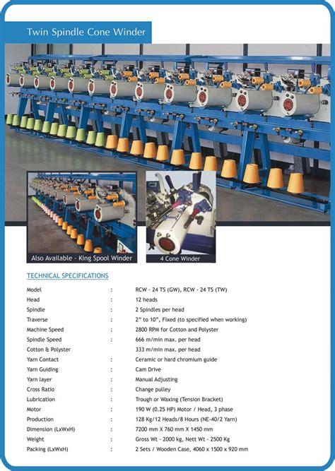 cone winding machine reshmi industries india pvt  coimbatore
